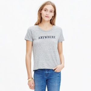 Madewell Anywhere Graphic Tee Size M